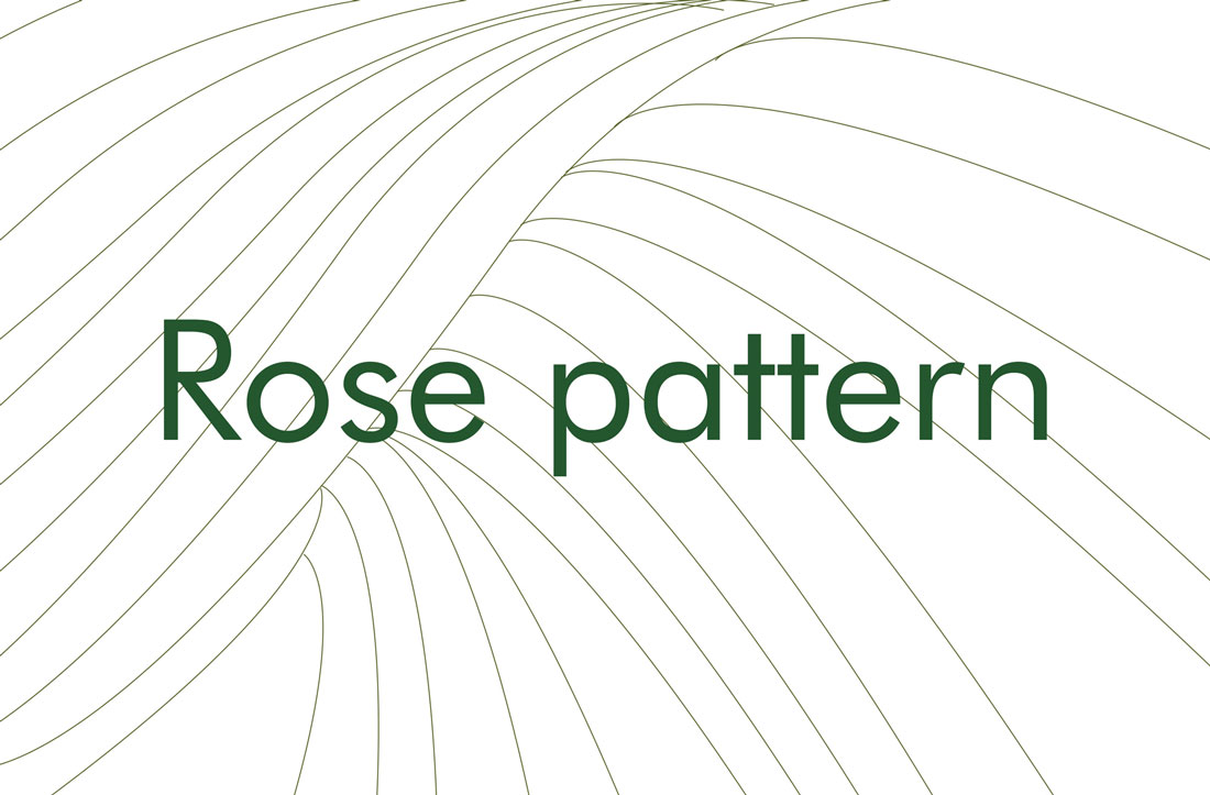 Rose olive oil pattern